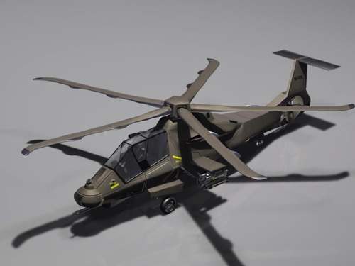 RAH-66 Comanche Stealth Helicopter