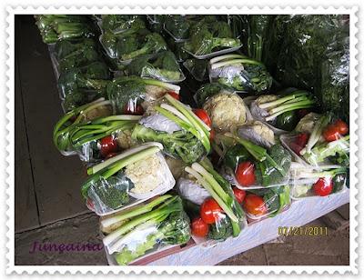 sayur-sayuran kundasang