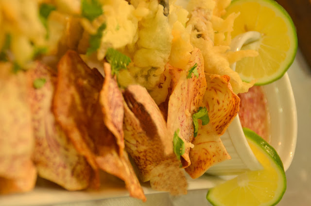 Pinoy Fish and Chips With Tuba Vinaigrette Dressing Recipe