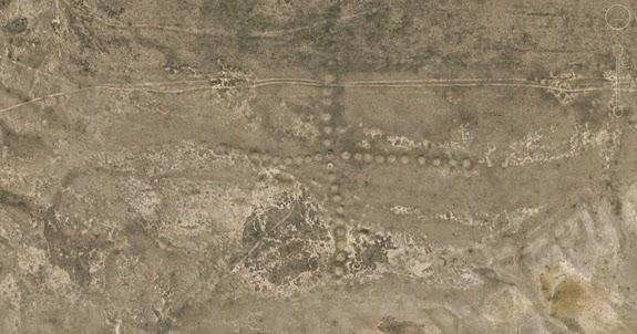 Resultado de imagen para geoglifos de kazajistan