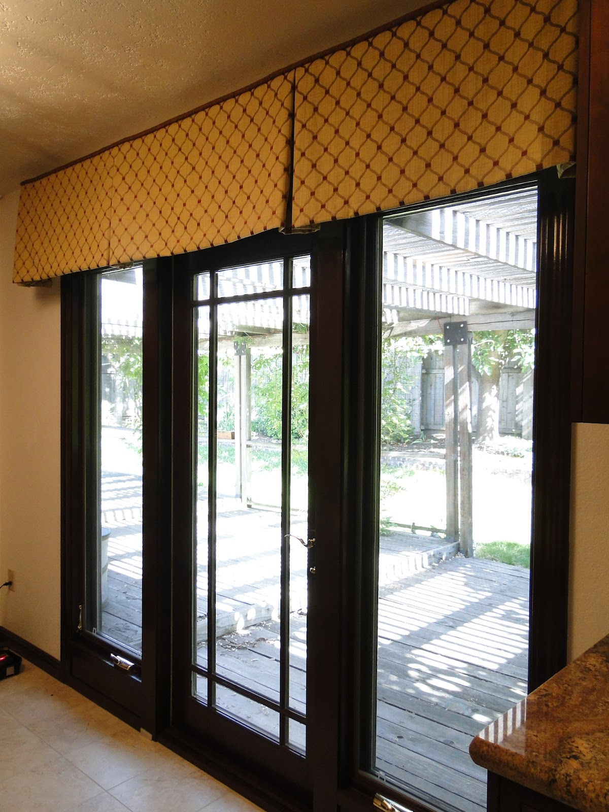 Marie antoinette interiors the french door dilemma for Roller screens for french doors