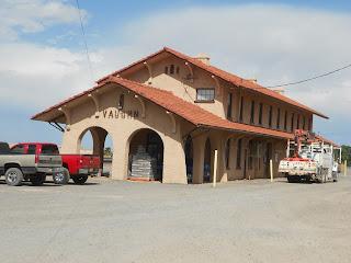 vaughn new mexico train depot