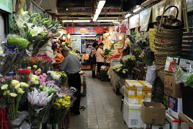 Flower Market, Hong Kong | travel blog