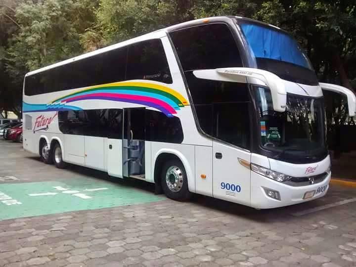 Dr Samuel Banda: Futura estrena autobus doble piso Marcopolo ...