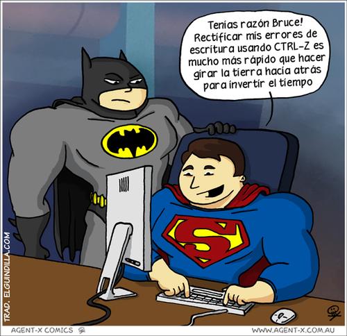 Los superhéroes y las nuevas tecnologías