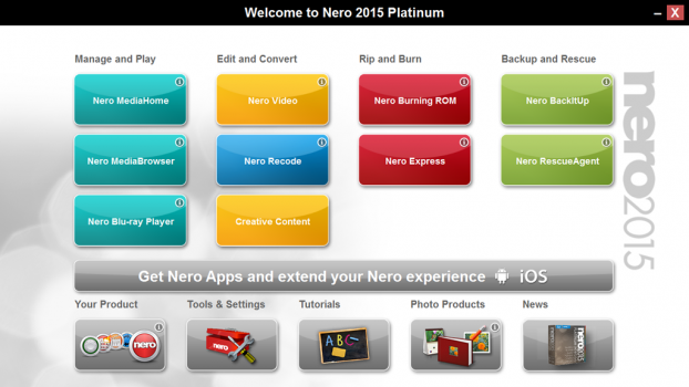 Free Download Nero 2015 Platinum Full Version
