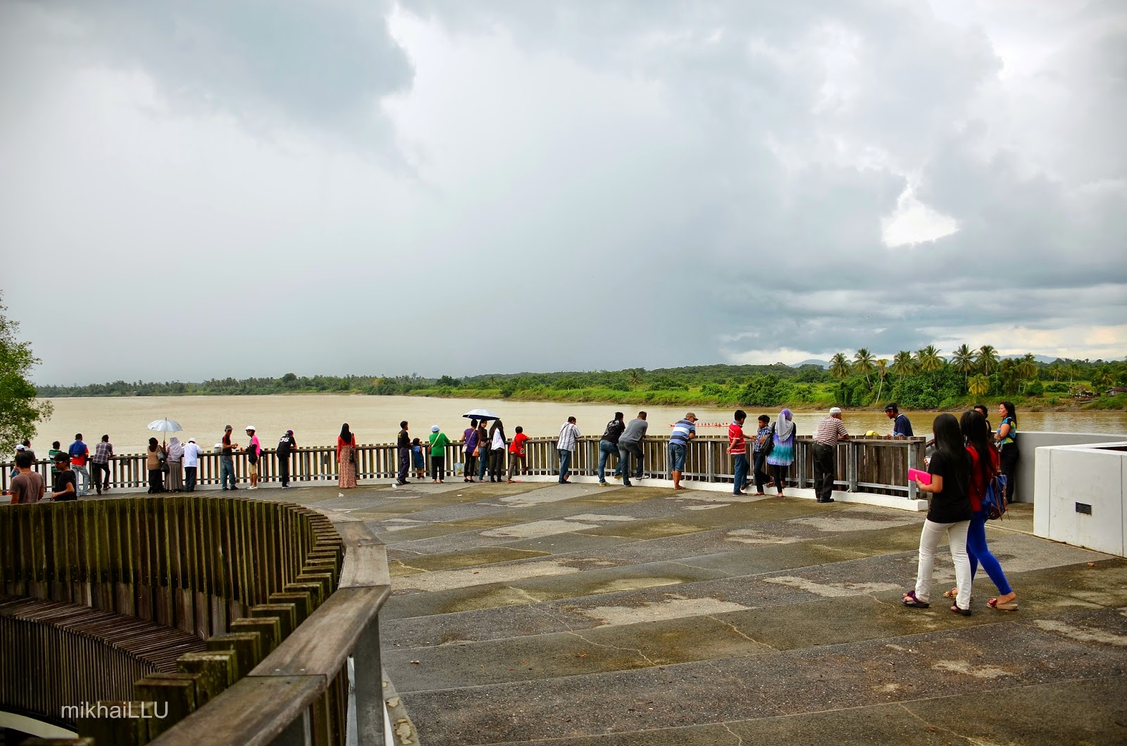 The panoramic vantage view of Batang Lupar | mikhaiLLU