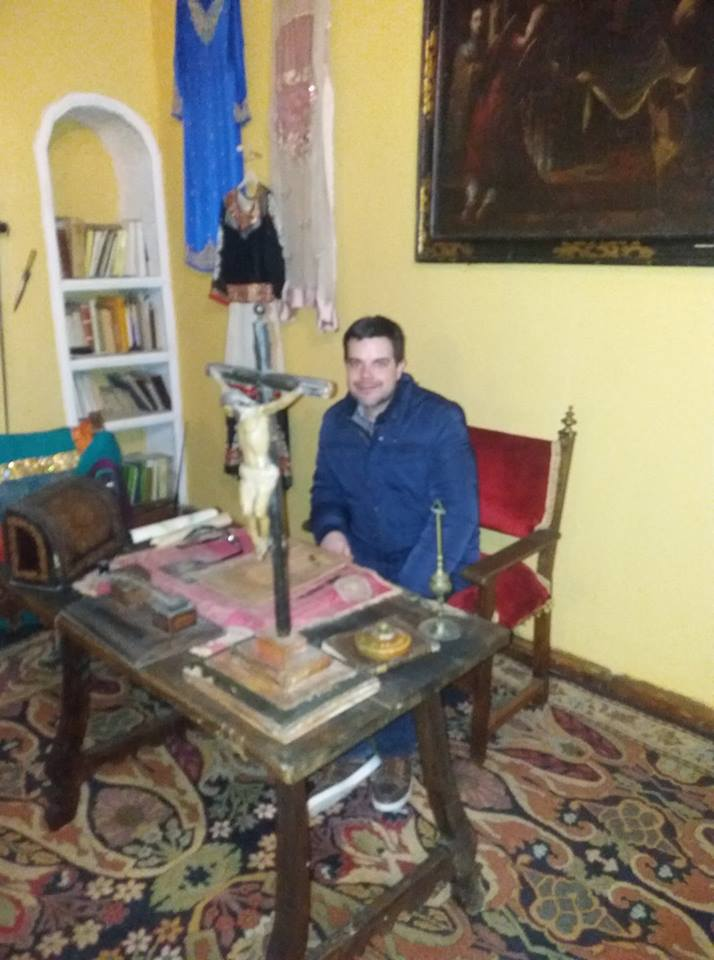 Juan Ángel López Barrionuevo; un ubetense comprometido con el patrimonio local y conocedor del mism