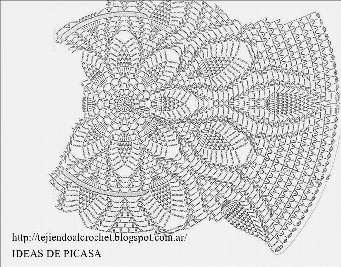 Tejidos a crochet ganchillo patrones elegante - Patrones de ganchillo ...