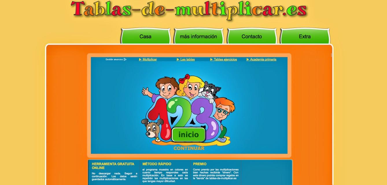 BANCO TIC | Aplicación para aprender las tablas de multiplicar ~ La ...