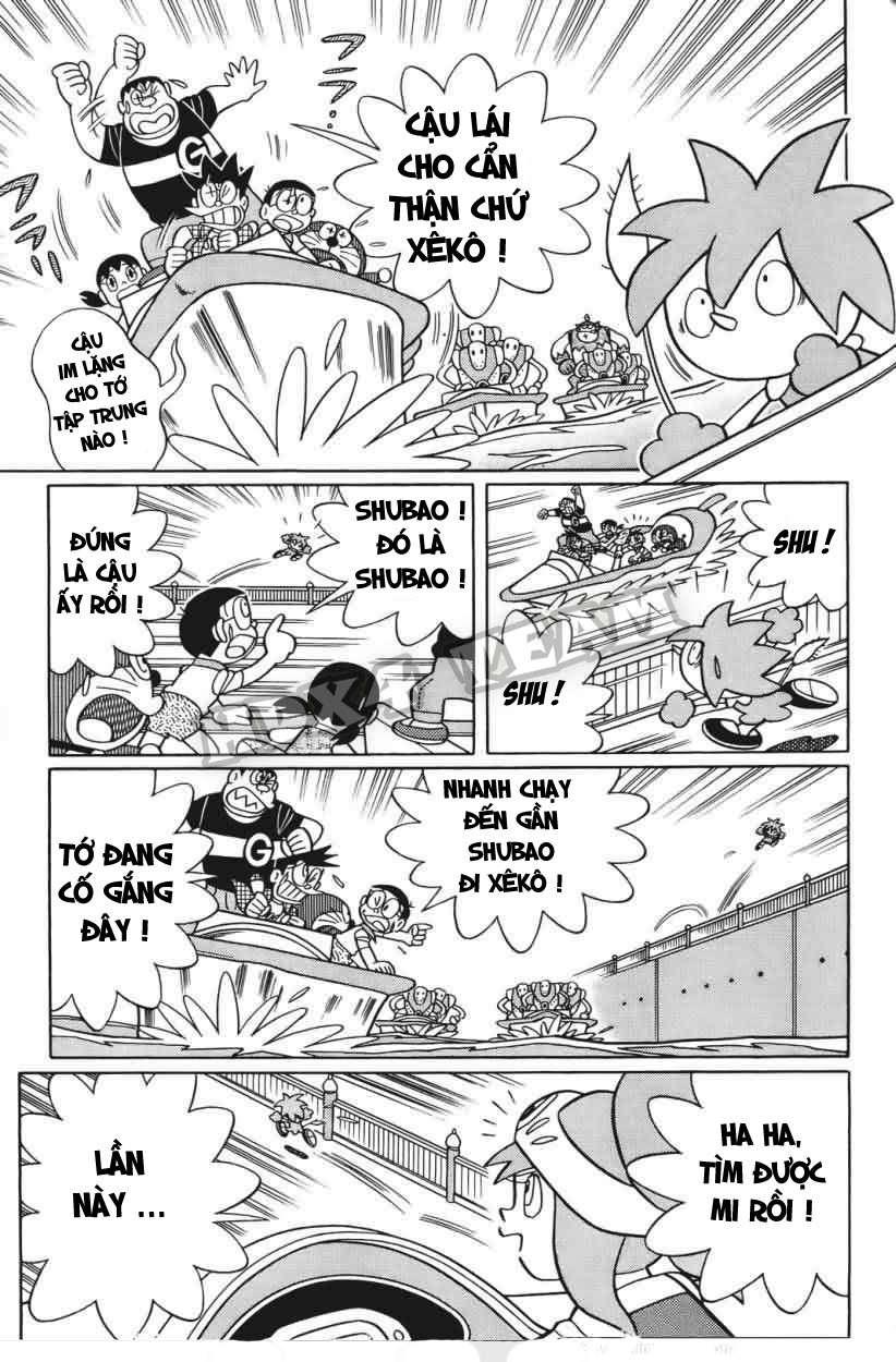 Truyện tranh Doraemon Dài Tập 25 - Nobita và truyền thuyết thần rừng trang 108