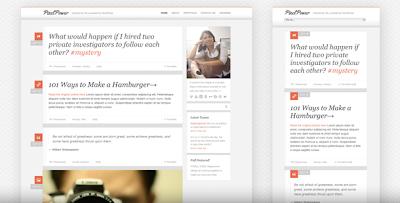 Themeforest PixelPower - Responsive HTML5/CSS3 WordPress Theme October 25 2011