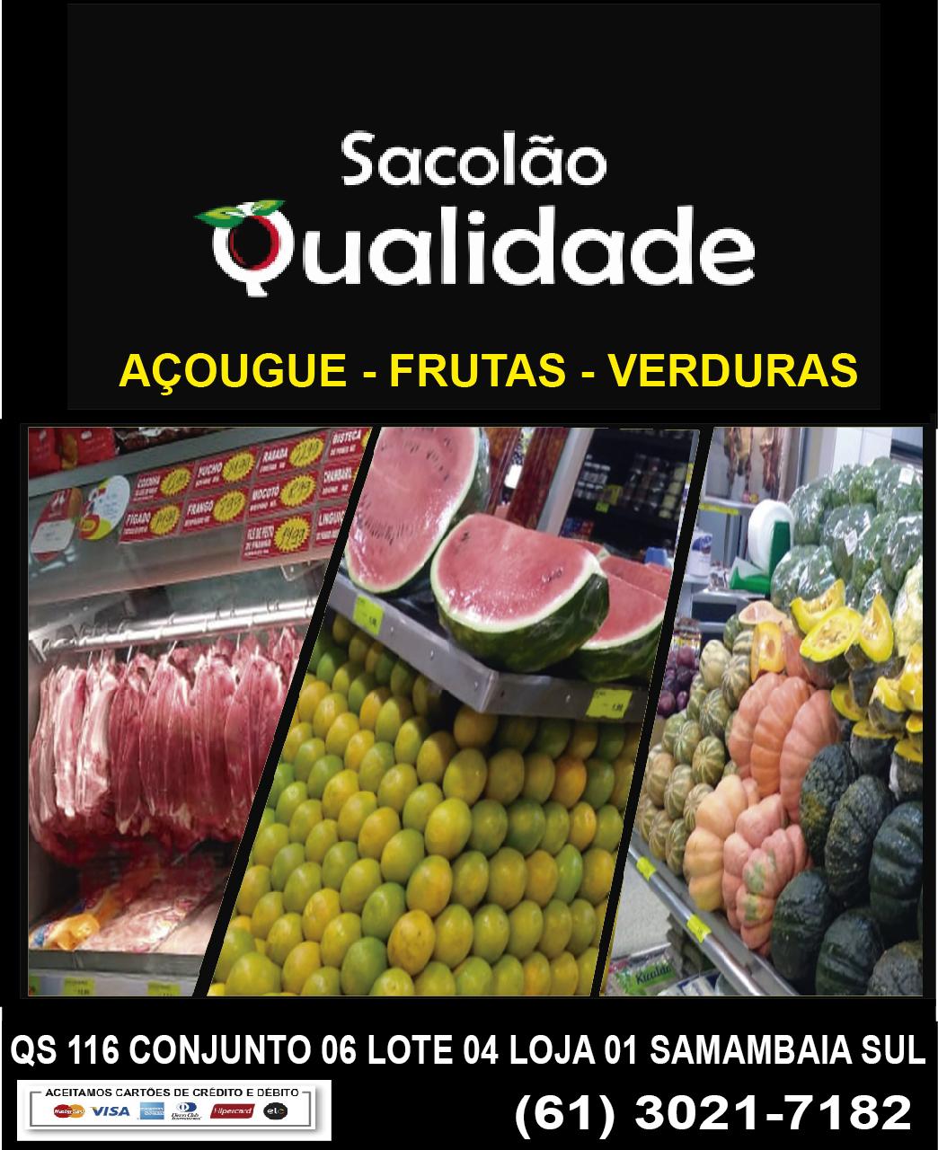 SACOLÃO QUALIDADE