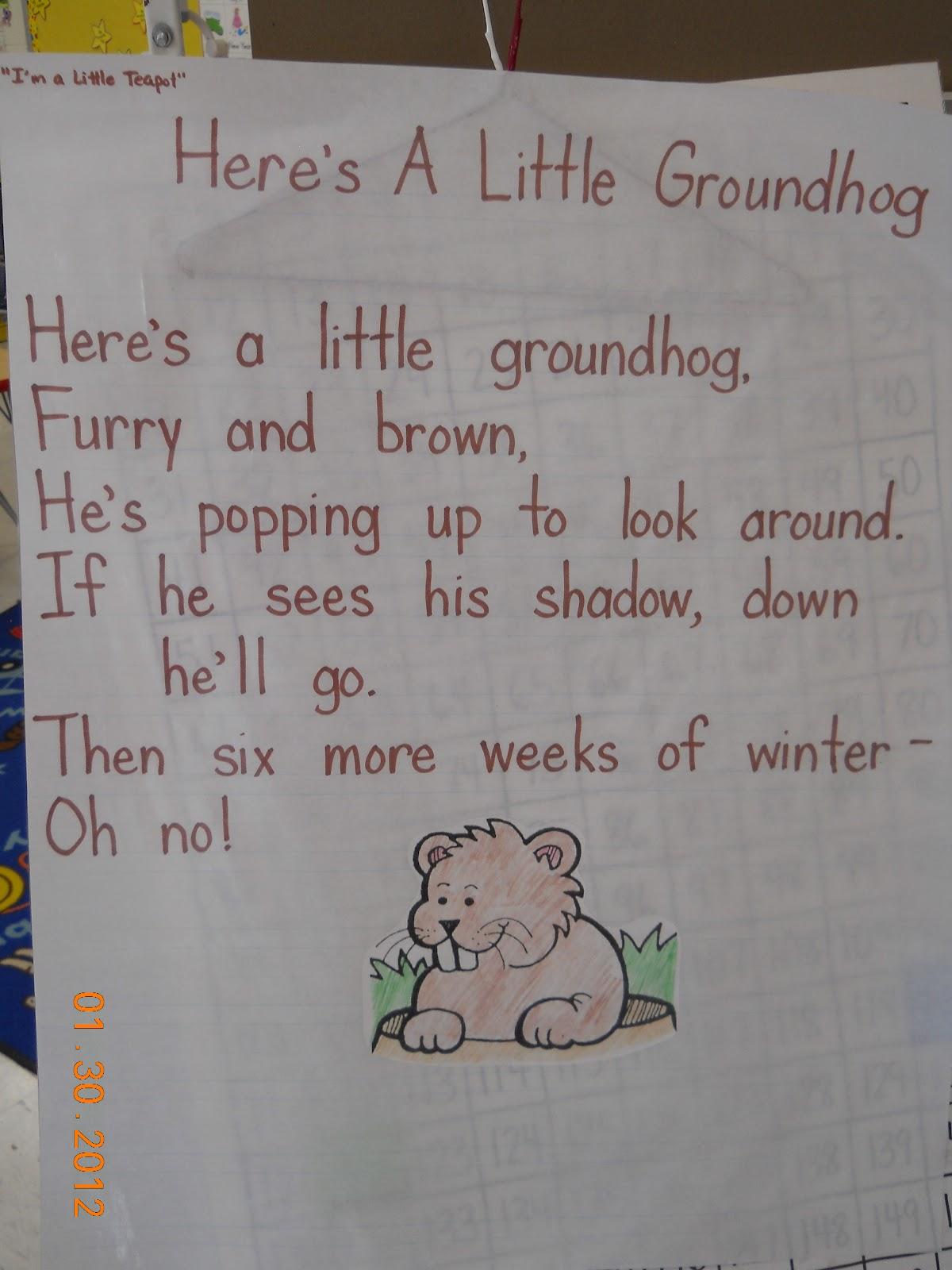 Mrs. Whaley's Kindergarten: Groundhog Day