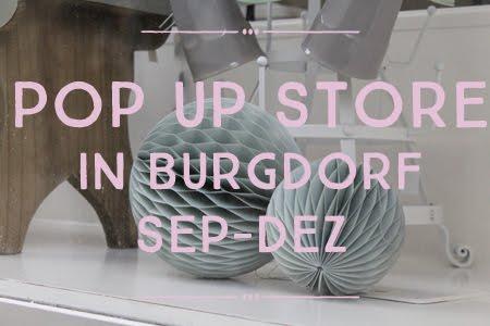 Pop-up Store in Burgdorf, von September bis Dezember