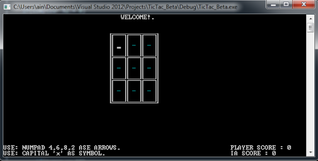 C/C++ TIC-TAC-TOE GAME