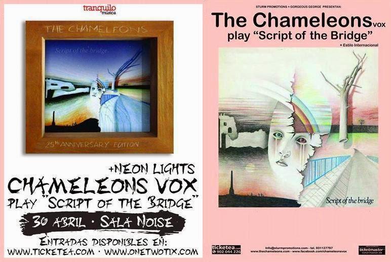 THE CHAMELEONS (Sala Noise, 30-4-14)