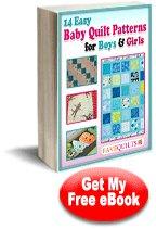 Baby quilt patterns - 284 free PDF eBooks