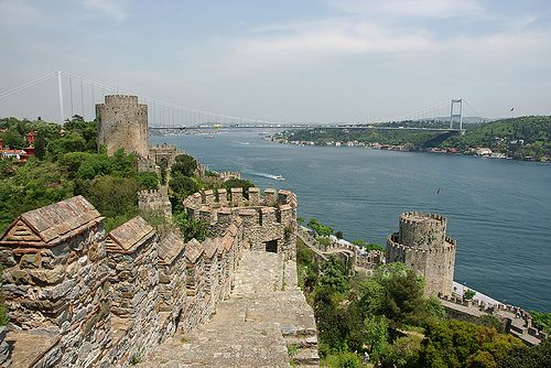 istanbul: hisar üstü kalesi