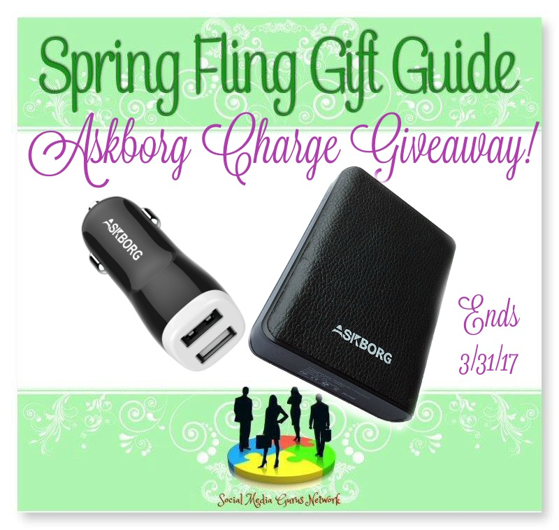 Askborg Charge Giveaway