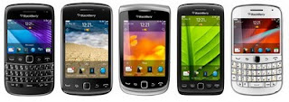 BlackBerry Bold 9790, Curve 9380, Torch 9810, Torch 9860 and Bold 9900 in Pure White in the Philippines