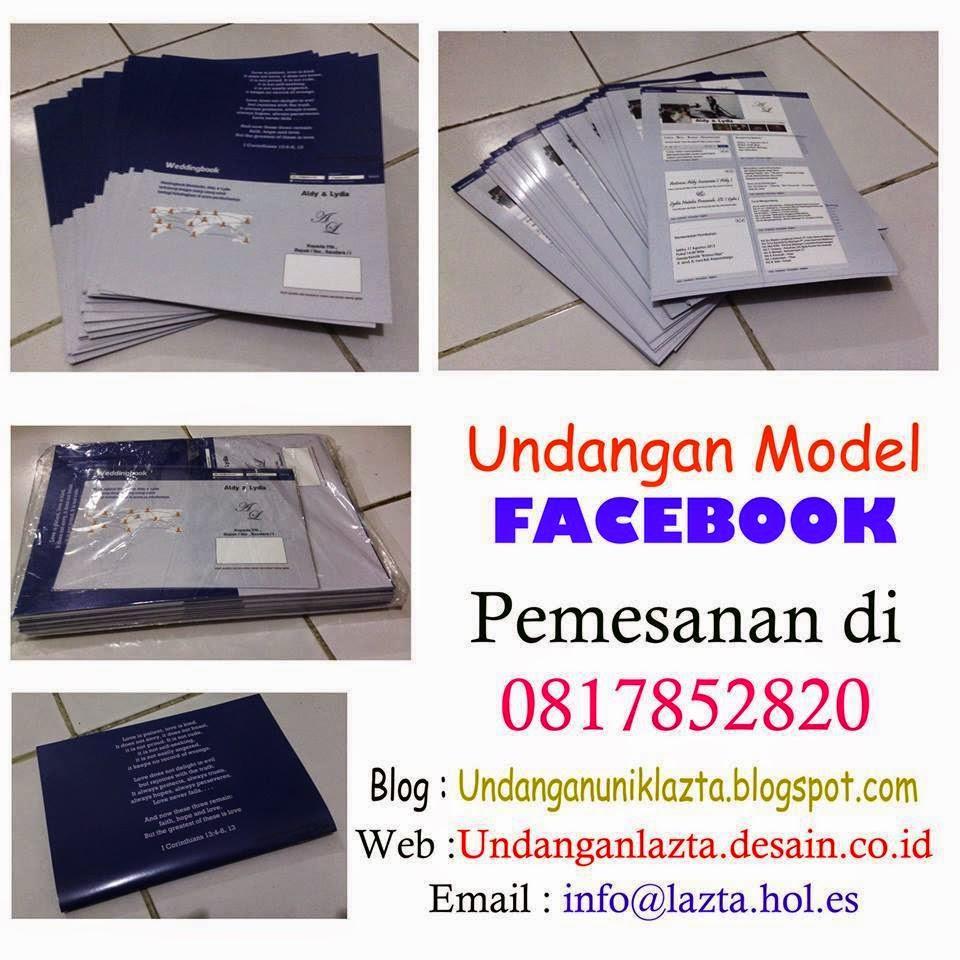 Undangan Model Facebook