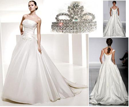 vestidos de novia estilo princesa ~ peinados para fiesta, juegos de