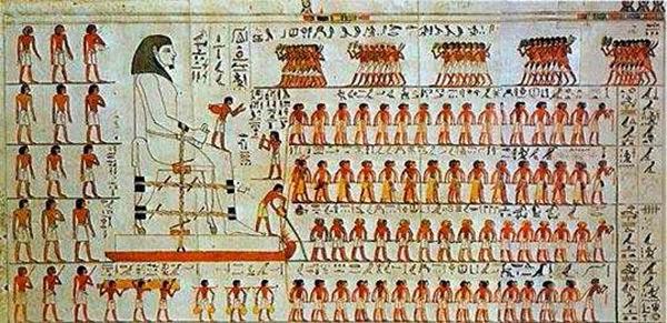 mesir kuno, batu piramida