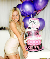 Ashley Tisdale celebrates her 26th birthday Pure Nightclub