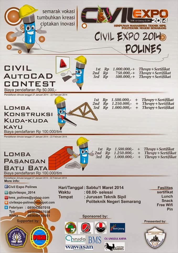 Civil Expo 2014 Politeknik Negeri Semarang
