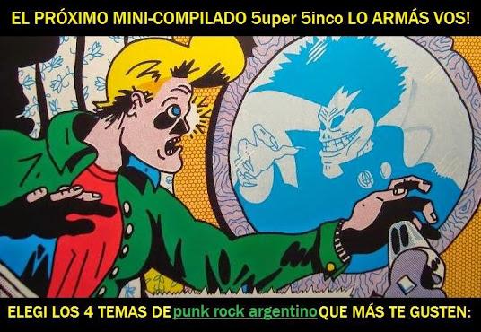 ¿Cuáles son las 4 mejores canciones de Punk Rock argentino?