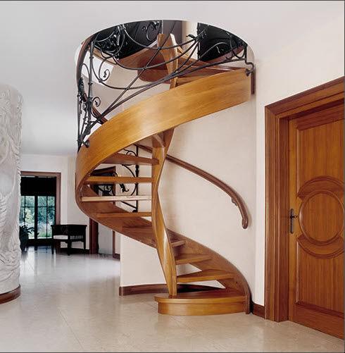 Decoracion actual de moda escaleras tipo caracol Como hacer una escalera caracol
