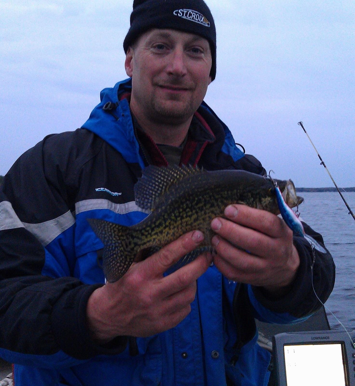 Houghton lake walleye report lake mitchell walleye for Enid lake fishing report