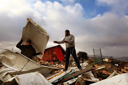 ISREAL DEMOLISHES ILLEGAL SETTLEMENTS:
