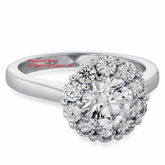Thimble Engagement Ring
