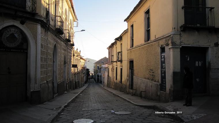 Calles de Potosí- Chuquisaca Esq. Padilla
