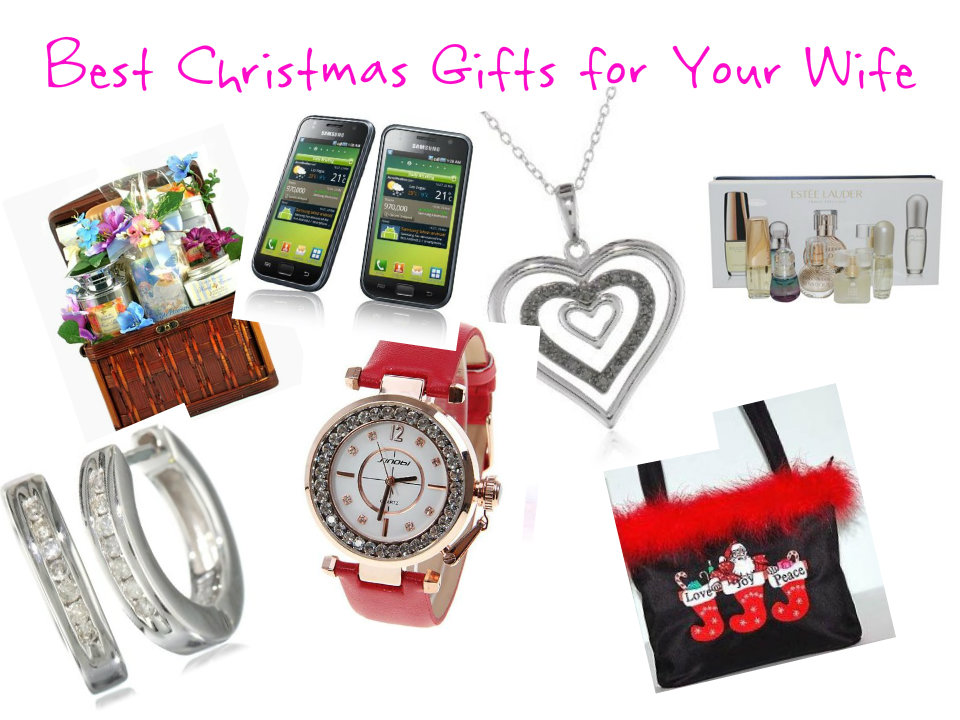 Your wife certainly deserves the best gifts this Christmas. After all