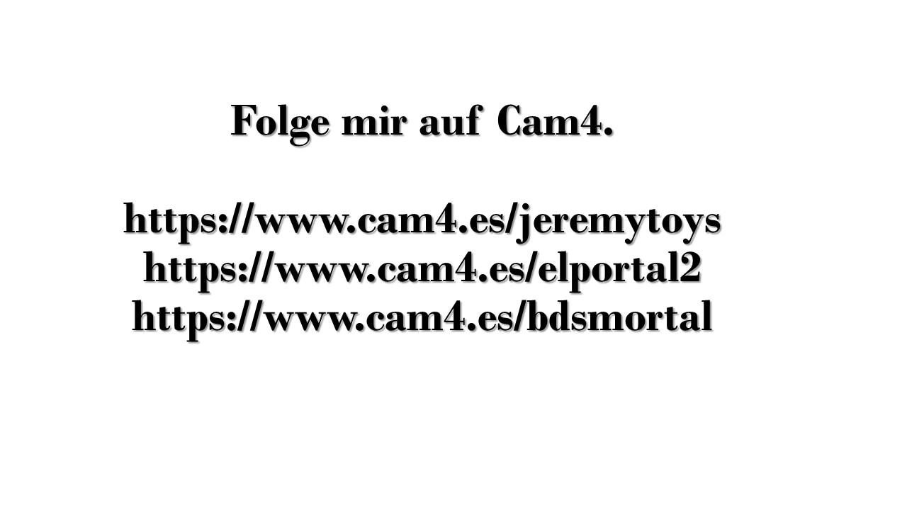 Folge mir auf Cam4.
