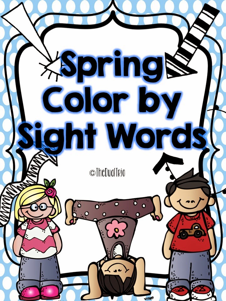 http://www.teacherspayteachers.com/Product/Spring-Color-by-Sight-Words-1230573