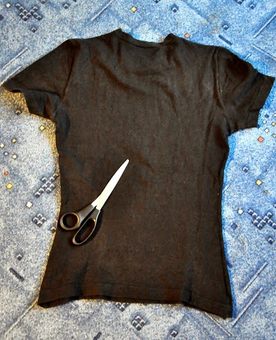 DIY: Przeplatana koszulka