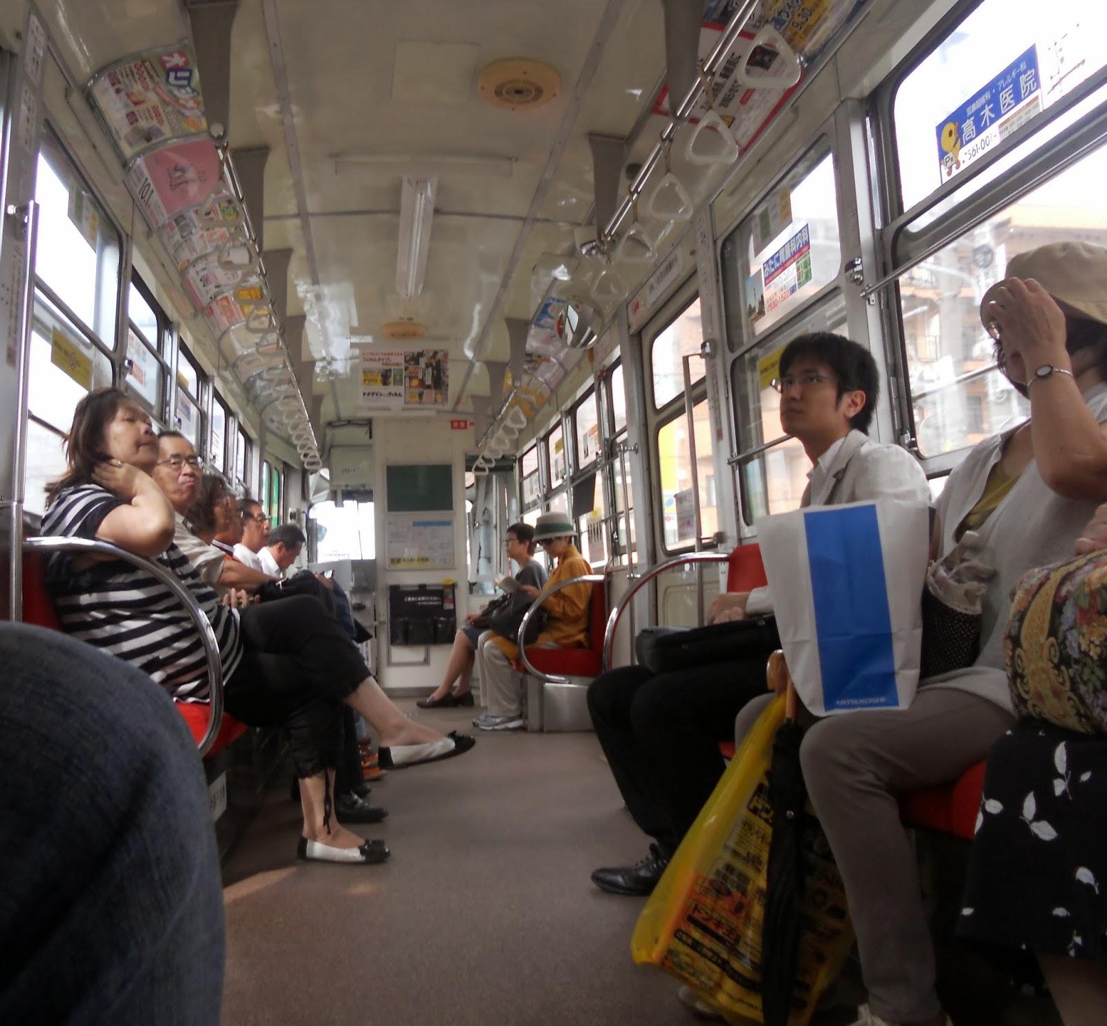 Японку в трамвае 2 фотография