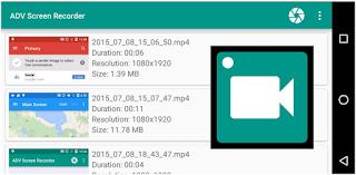 Cara Merekam Layar Android Dengan Aplikasi ADV Screen Recorder