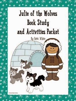http://www.teacherspayteachers.com/Product/Julie-of-the-Wolves-Book-Study-Activities-Packet-1160803