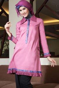 Azka Sarimbit V3 Blus TSK14 - Pink (Toko Jilbab dan Busana Muslimah Terbaru)
