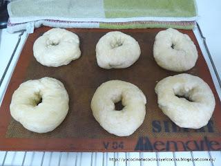 Bagels cocidos