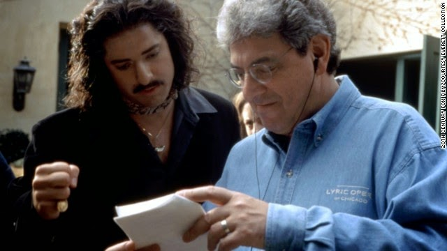 Harold ramis funny man of groundhog day sctv caddyshack with brendan fraser on the set of bedazzled solutioingenieria Gallery