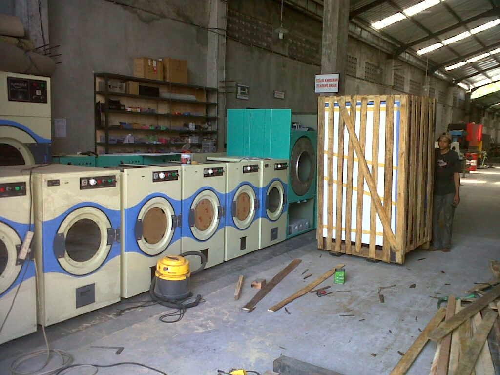 Produksi Mesin Pengering Laundry