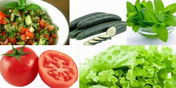 Tabule Light - Salada saborosa para sua dieta