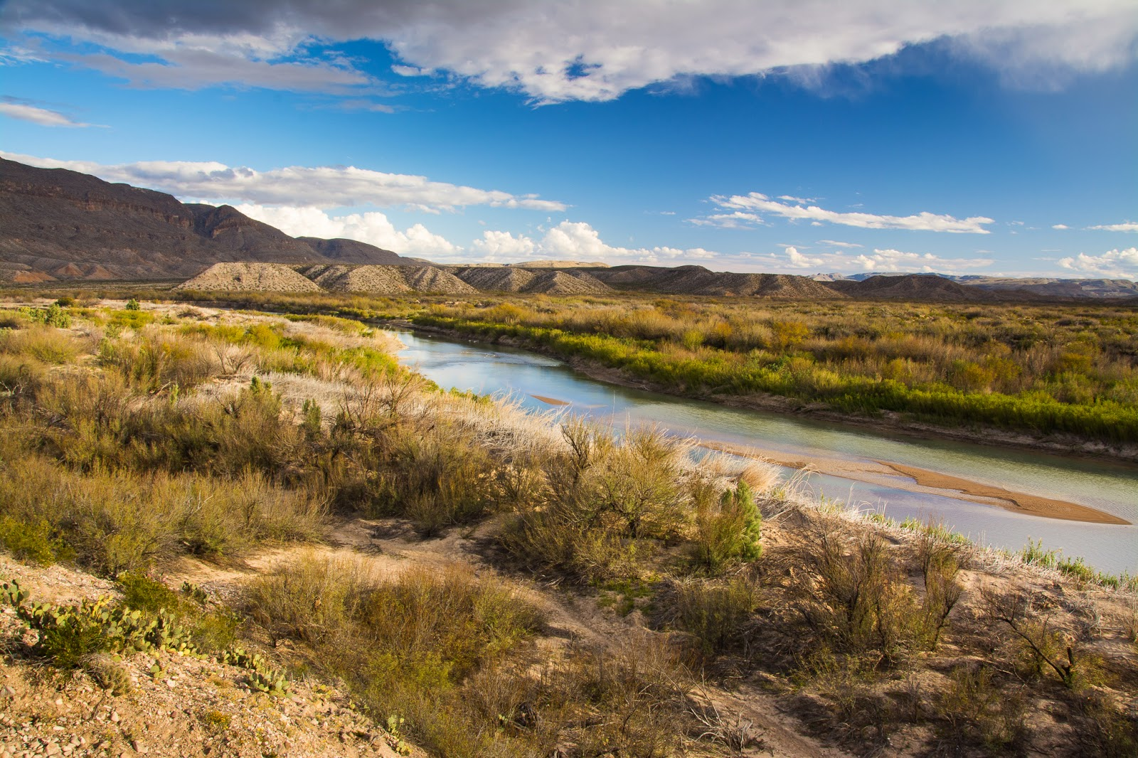 Rio Grande near Boquillas Crossing