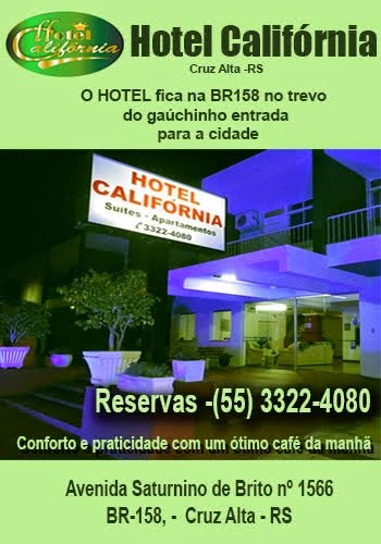 Hotel Califórnia - Cruz Alta - RS